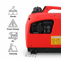 1250 Watts Portable Gasoline Inverter Generator 4 Stroke Gas Powered EPA CARB