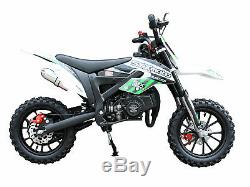 2020 Kids Dirt Bike (Pit Bike) Gas powered 50cc, 2 stroke off road motorcycle