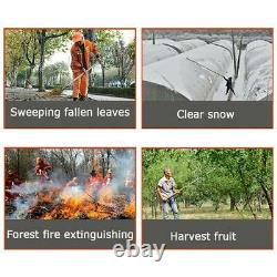32CC Gas Backpack Leaf Blower 2-Stroke Powered Debris with Padded Harness EPA
