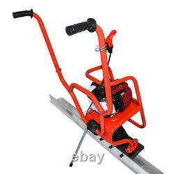 37.7cc 4 Stroke Gas Concrete Wet Screed Power Screed Cement 6.56ft Board 5200rpm
