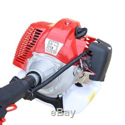 42.7CC 2 Stroke Gas Powered Pole Saw Chain Saw Pruner Tree Trimmer 12'' Blade US