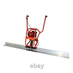 4 Stroke Gas Concrete Wet Screed Power Screed Cement 37.7cc + 6.56ft Board