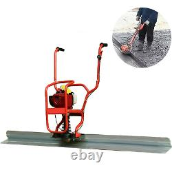 4 Stroke Gas Concrete Wet Screed Power Screed Cement 37.7cc + 6.56ft Board US