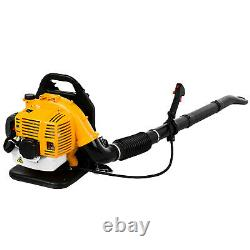 80CC 2- stroke Backpack Powerful Leaf Blower Motor Gas 850CFM NEW US