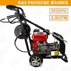 8HP 3950 PSI Gas Powered Pressure Washer Cold Water Cleaner 2.8GPM & 4 Stroke US