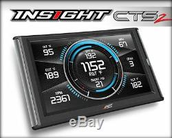 BRAND NEW Edge Insight CTS2 monitor withEGT Probe for 1996-2017 GMC Diesel & Gas