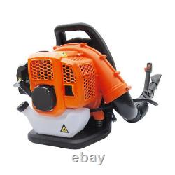 Commercial Gas Leaf Blower Backpack Gas-powered Backpack Blower 2-Strokes 9kg US