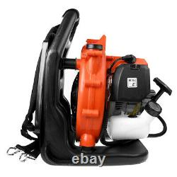 Commercial Gas Leaf Blower Padded Backpack Gas-powered Blower 42.7CC 2-Stroke