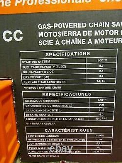 ECHO CS-310 GAS POWERED CHAINSAW With14 BAR AND CHAIN 30.5CC 2-STROKE (BRAND NEW)