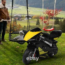 Gas Power Pocket Bike Motorcycle 49cc 2-Stroke Engine For Kids And Teens US