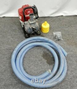 Honda WX10T 4-Stroke Gas 25cc Powered Water Pump withHose