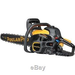 Poulan Pro 967061501 50cc 2 Stroke Gas Powered Chain Saw with Carrying Case, 20