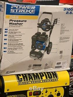 Power Stroke Gas Pressure Washer 3100PSI 2.5GPM 212cc Engine (PS80544)