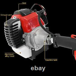Powerful 52CC 2-Stroke 5 IN1 Gas Straight Shaft Grass Trimmer Brush Cutter Eater