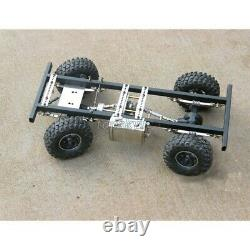 RC Car Chassis Frame For DIY 4-Stroke Gas Powered RC Car Climbing Model Kits tps