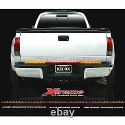 Recon 60 Xtreme LED Tailgate Bar with Scanning Turn Signal For Universal Fitments
