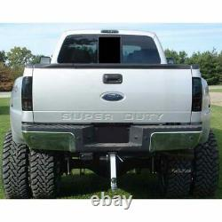 Recon Smoked LED Tail Lights For 2008-2019 Ford 6.4L 6.7L Powerstroke Super Duty