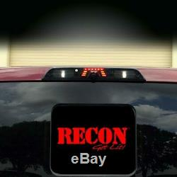 Recon Smoked Lens LED Third Brake Light with Factory Camera 17-19 Ford Super Duty