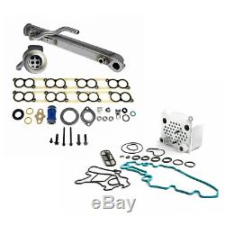 Rudy's Updated EGR Cooler Kit Oil Cooler Intake Gaskets Ford 6.0L Powerstroke