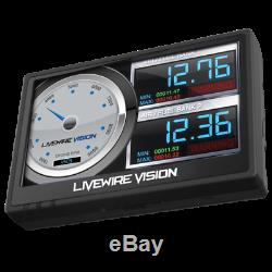 SCT Livewire Vision Performance Monitor for Ford Super Duty Gas & Powerstroke