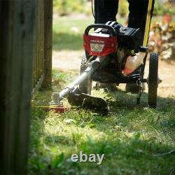 String Trimmer 17 in. 43cc Two Stroke Gas Walk Behind with Bevel Adjustment